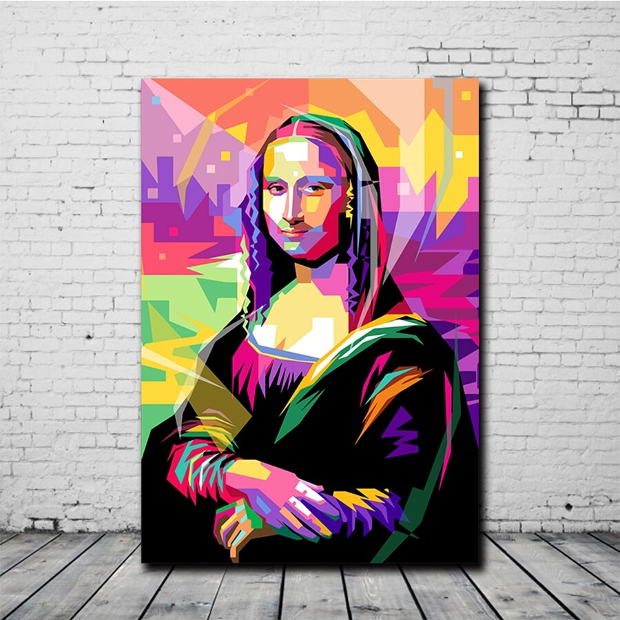 Toile Mona Lisa Pop Art