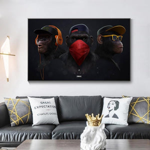 Monkey Swag Canvas