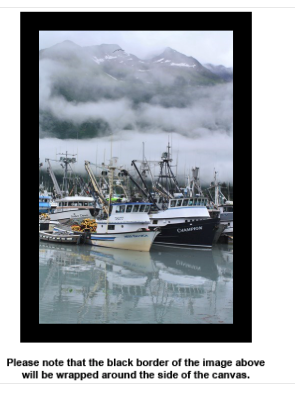 Harbor Reflection Canvas - Earth Printz