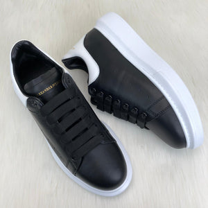 Alexander McQueen Genuine Leather Men Sneaker