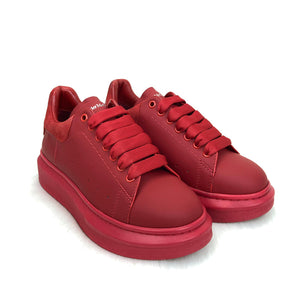 Alexander McQueen Genuine Leather Women Sneaker