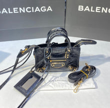 Load image into Gallery viewer, Balenciaga Nano Croco Bag