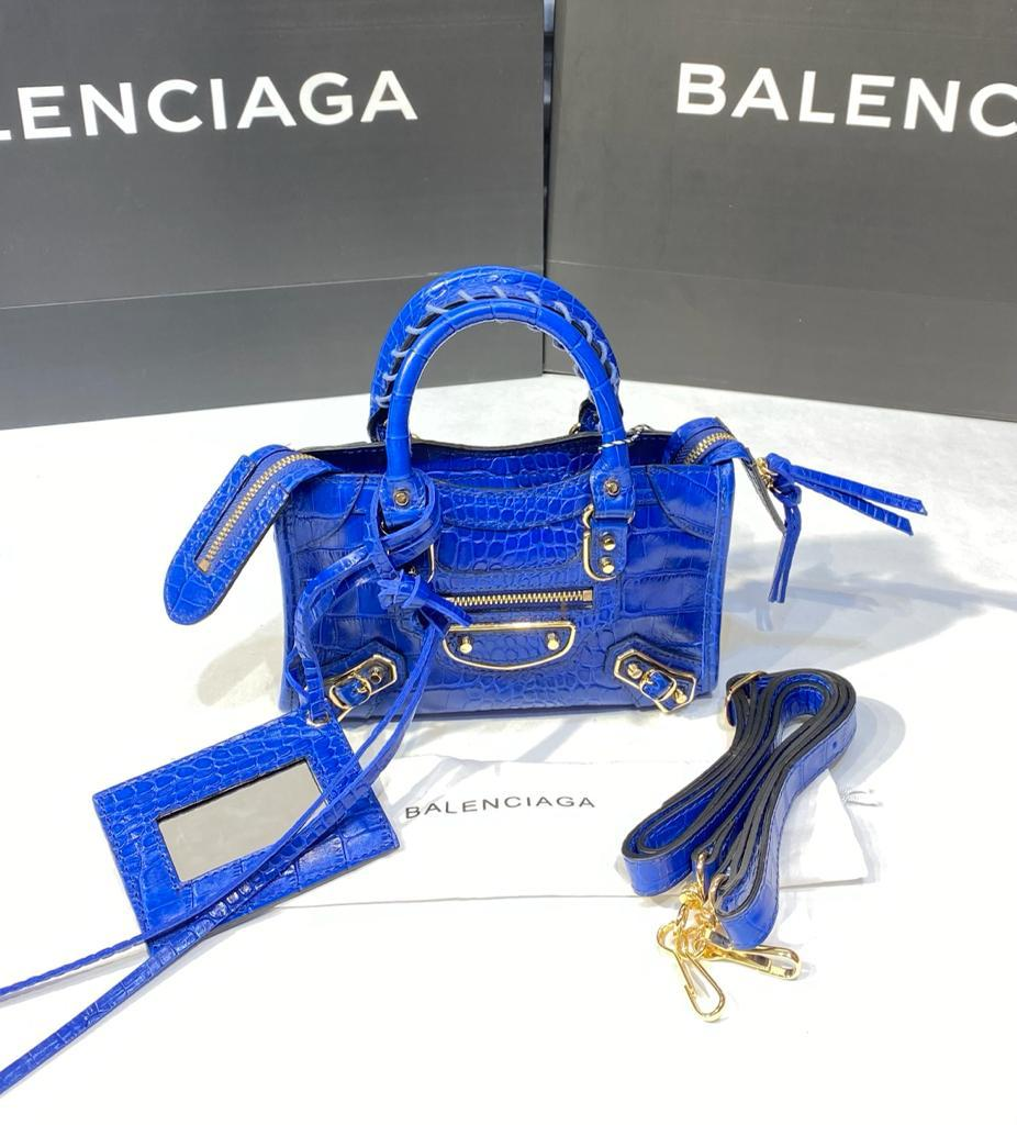 Balenciaga Nano Croco Bag