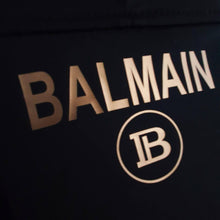 Load image into Gallery viewer, Balmain Gold Logo Swimming Suit