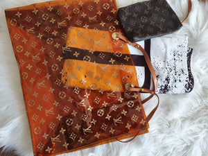 Louis Vuitton Beach Bag & Valentino Towel Set