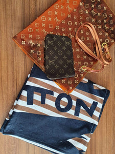 Louis Vuitton Beach Bag & Towel Set