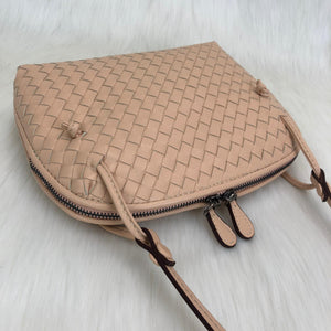 Bottega Veneta Nodini 100% Genuine Leather Postman Bag