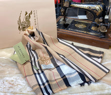 Load image into Gallery viewer, Burberry Long Cashmere Scarf