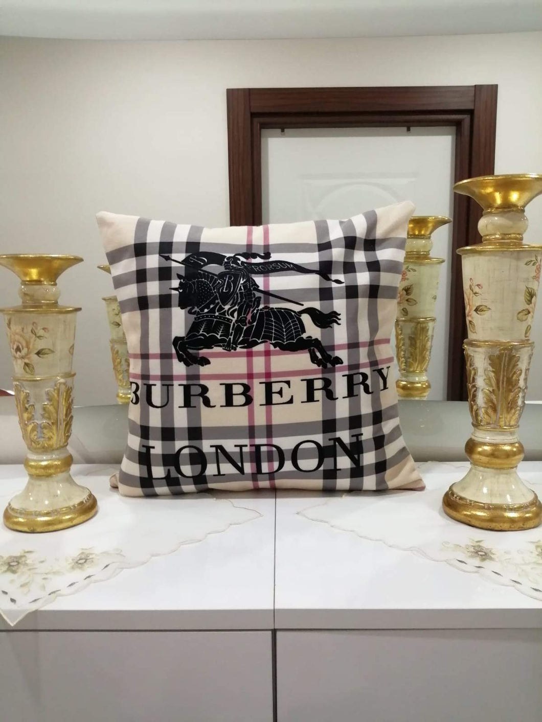 Burberry Pillowcase