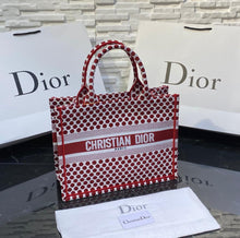 Load image into Gallery viewer, Christian Dior Book Tote Oblique Bag Small