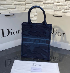 Christian Dior Book Tote Vertical Bag