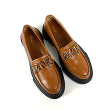 Load image into Gallery viewer, Christian Dior Brushed Derby Shoes
