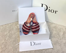 Load image into Gallery viewer, Christian Dior Dway Mule Sandals