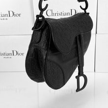 Load image into Gallery viewer, Christian Dior Saddle Embossed Calfskin Bag