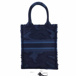 Christian Dior Vertical Book Tote Bag