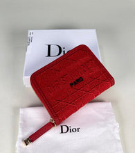 Load image into Gallery viewer, Christian Dior Wallet Mini