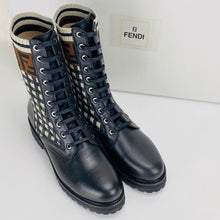 Load image into Gallery viewer, Fendi Rockoko Biker Boots