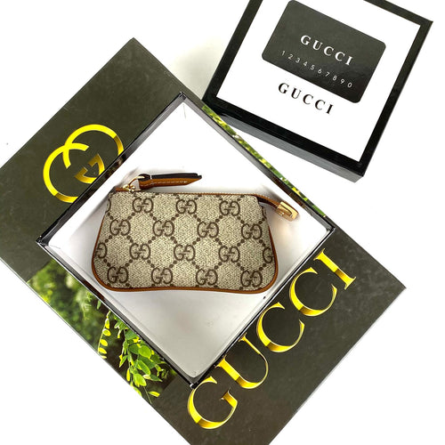 Gucci GG Coin Purse & Key Pouch