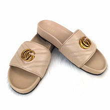 Load image into Gallery viewer, Gucci GG Marmont Slides