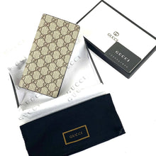 Load image into Gallery viewer, Gucci Supreme Long Wallet