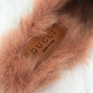 Gucci Princetown Leather Slippers