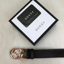 Load image into Gallery viewer, Gucci Reversible GG Buckle Belt