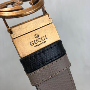 Gucci Reversible GG Buckle Belt