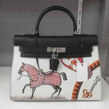 Load image into Gallery viewer, Hermes Sen Painted Limited Edition Kelly 32
