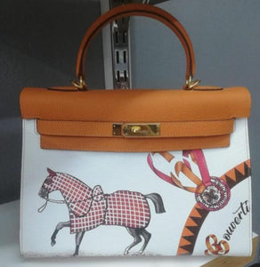 Hermes Sen Painted Limited Edition Kelly 32