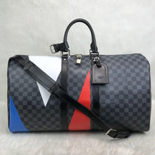 Load image into Gallery viewer, Louis Vuitton America's Cap Vejital Leather Suitcase