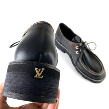 Load image into Gallery viewer, Louis Vuitton Beaubourg Platform Derby Shoes