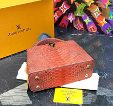 Load image into Gallery viewer, Louis Vuitton Capucines Python Mini