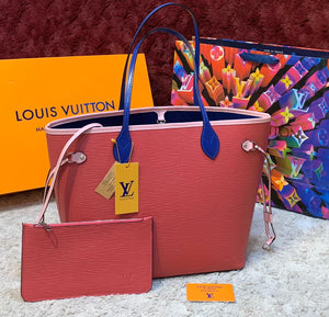 Louis Vuitton Epi Neverfull