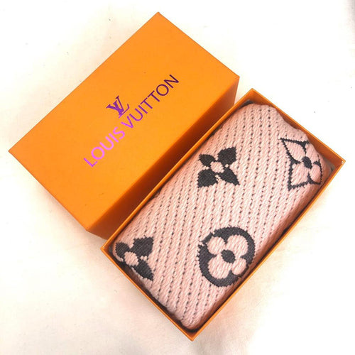 Louis Vuitton Logomania Wool Scarf