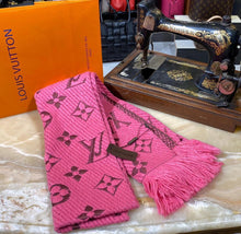 Load image into Gallery viewer, Louis Vuitton Logomania Wool Scarf