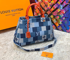 Louis Vuitton Montaigne Jean Bag