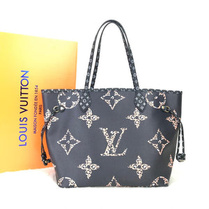 Louis Vuitton Neverfull MM Oversized Shoulder Bag
