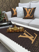 Load image into Gallery viewer, Louis Vuitton Pillowcase & Runner