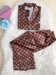 Louis Vuitton Satin Pyjamas