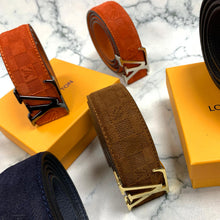 Load image into Gallery viewer, Louis Vuitton Suede Belt