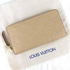 Louis Vuitton Zippy Empreinte