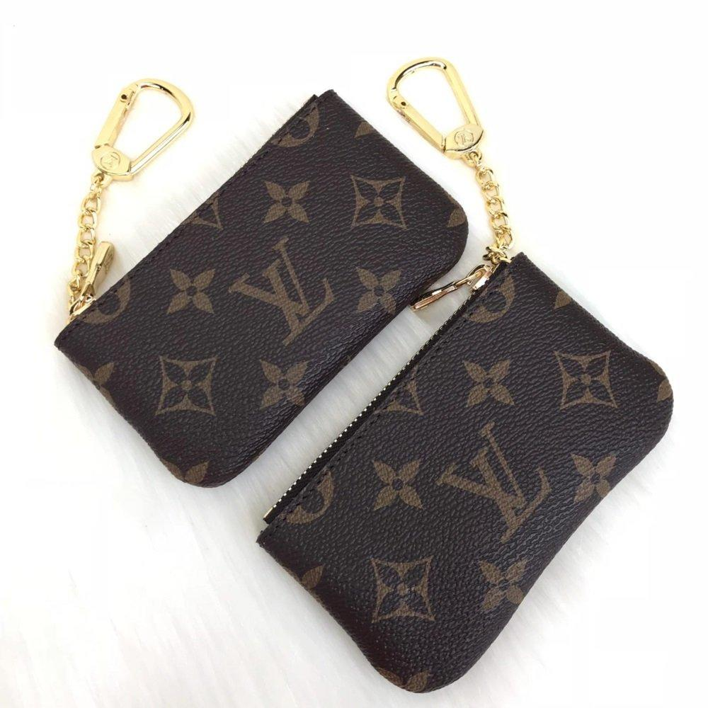 Louis Vuitton Coin Purse Monogram-Brown