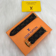 Load image into Gallery viewer, Louis Vuitton Classic Canvas Monogram Apple IWatch Strap