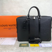 Load image into Gallery viewer, Louis Vuitton Porte Voyage Epi & Infini