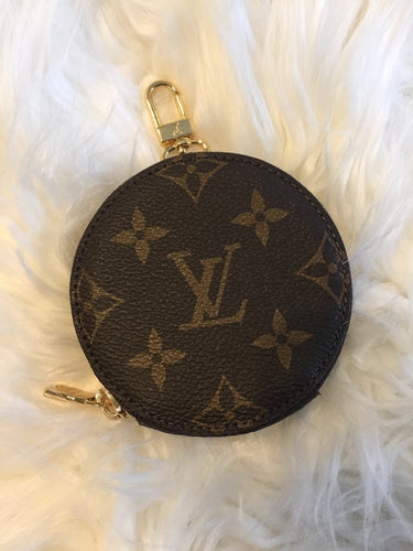 Louis Vuitton Round Coin Purse - Multipurpose Accessory