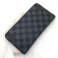 Load image into Gallery viewer, Louis Vuitton Damier Graphite Zippy Wallet