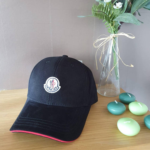 Moncler Logo Cotton Twill Cap
