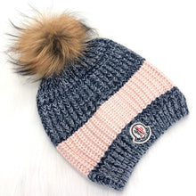 Load image into Gallery viewer, Moncler Two-tone Knit Hat