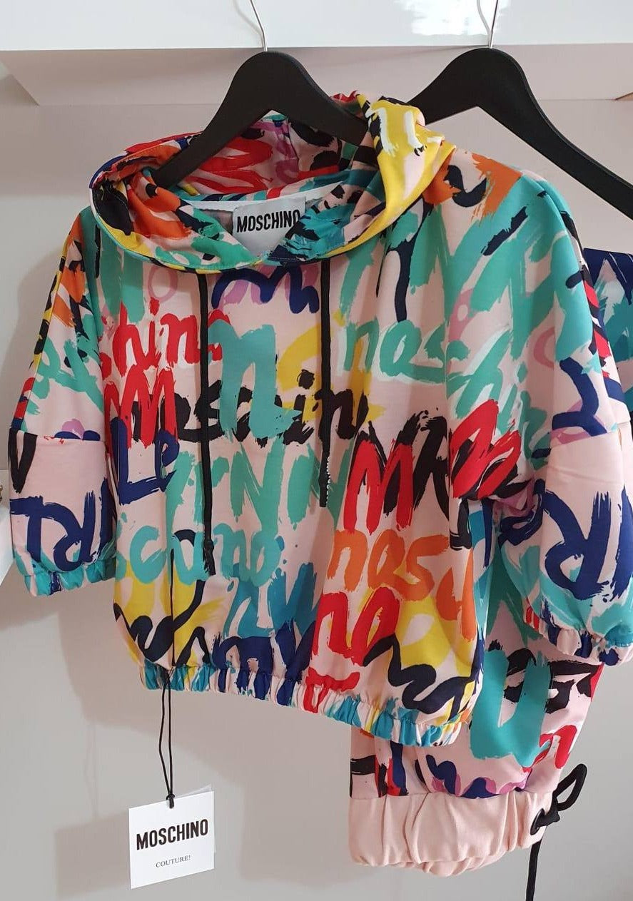 Moschino Multicolor Tracksuit