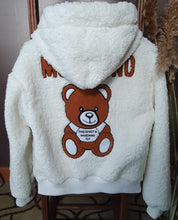 Load image into Gallery viewer, Moschino Teddy Bear Fluffy Jacket